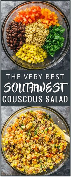 The Very Best Southwest Couscous Salad