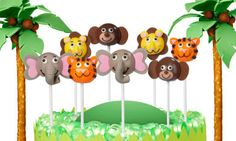 Instructions for Zoo Animal Cake Pops