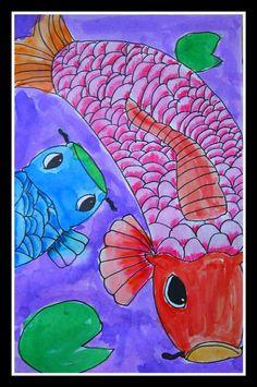 MaryMaking: Colorful Koi Fish