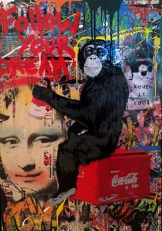 Everyday Life 2013 by Mr. Selling Art Online, Online Art, Mr Brainwash, Street Artists, Artist At Work, New Art, Graffiti, Mona Lisa, Artwork