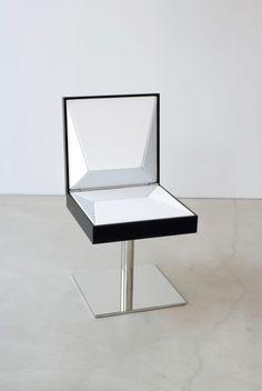 Tablechair, Thomas Feichtner For more design inspiration visit: http://inspirations.caesarstone.com/?utm_source=facebook&utm_medium=posts&utm_campaign=caesarstone#main/soft-minimal