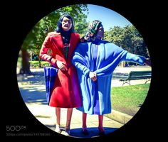 Las abuelas de Santiago de Compostela by faymj2000