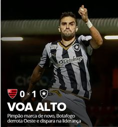 BotafogoDePrimeira: Com mais um gol de Pimpão, Botafogo vence o Oeste ...