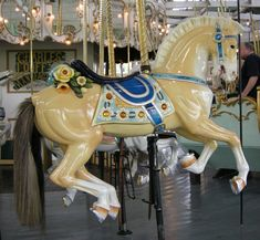 1895 Looff Carousel at Carousel Park Riverside, RI
