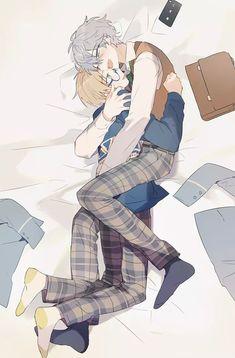 Anime Chibi, Fanarts Anime, Kawaii Anime, Manga Anime, Anime Art, Anime Boys, Cute Anime Boy, Cute Anime Couples, Familia Anime