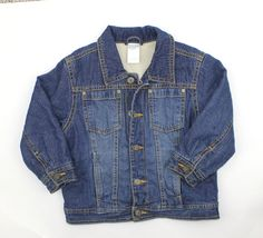 Kids Shearling  Lined Denim Jacket by Gymboree in Size 2T/3T.  Only $6 Online Resale