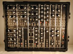 When all you need to make music was knobs, switches, and patch cords.