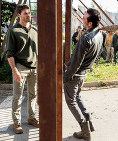 Negan and Spencer Monroe in The Walking Dead Season 7 Episode 4 | Service