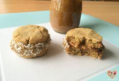 Cómo hacer alfajores de maicena veganos y sin gluten Sin Gluten, Sweet Recipes, Healthy Recipes, Healthy Food, Vegan Sweets, Vegan Life, Muffin, Cookies, Breakfast
