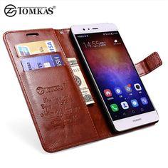 Flip Wallet Case Voor Huawei P9 Lite Coque Luxe PU Lederen Stand Telefoon Tas Cover Voor Huawei Ascend P9 Lite Gevallen Tomkas