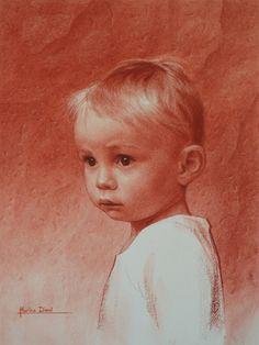 Martin... drawing by Marina Dieul