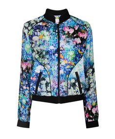 Holocene Floral Bomber Jacket
