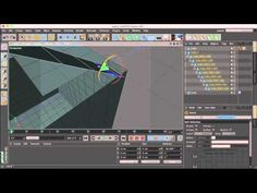 Cinema 4D Tutorial: Unfolding Polygons Effect - YouTube