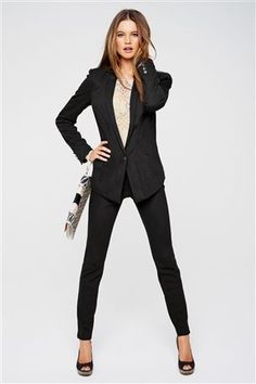 Every business woman needs perfectly tailored suit in their