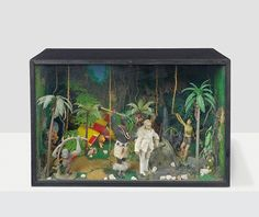Credit: Peter Blake, of Waddington Custot Galleries, London Peter Blake, Tarzan Box, Allen Jones, Peter Blake, Best Of British, David Hockney, Art Icon, New Work, Pop Art, Tarzan, Rock