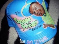 Nayade Caps Gorras personalizadas Custom caps: Prince of Bel-Air cap