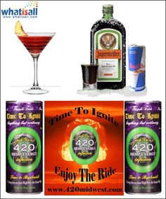 Jagermeister, a fruit flavored liquor made up of several herbs and spices, is not only a drink in itself, but is used in several other drinks. It is exported by Germany to many countries, which use it to make other Jagermeister drinks. However, more often, people make their own drink by mixing Jagermeister with almost anything that makes it more flavorsome and effective.