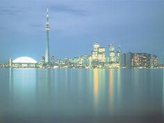 Toronto Pictures - Pictures of Toronto: Toronto Skyline at Night Picture - Picture of Toronto Skyline at Night