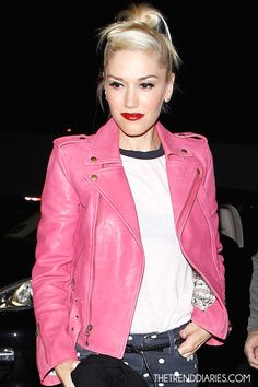 gwen stefani in a perfect pink by kelly wearstler