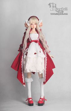 Julia, 58cm Ring Doll Girl - BJD Dolls, Accessories - Alice's Collections