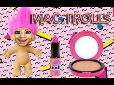 MAC Trolls Collection Swatches #bbloggers #beautyblogger #makeup #cosmetics #beauty #mua #mactrolls #macluckytrolls