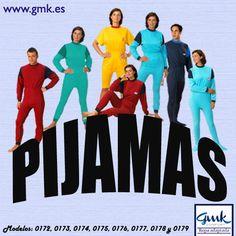 Pijamas adaptados unisex. Varios modelos, tallas y colores. Disponibles en nuestra tienda online www.gmk.es