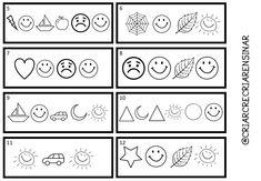 Criar Recriar Ensinar Education, Blog, Kids, Preschool Literacy Activities, Kids Learning Activities, Abc Centers, Writing Activities, Secret Code, Index Cards