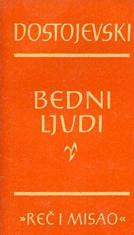 F.M.Dostojevski-Bedni ljudi PDF Besplatno DOWNLOAD - Besplatne Knjige