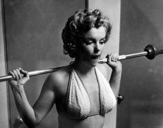 Marilyn Monroe Working It Out :)