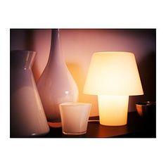 IKEA - GAVIK, Lampada da tavolo, È piccola e ideale per dare un tocco di colore e creare atmosfera in qualsiasi stanza della casa.