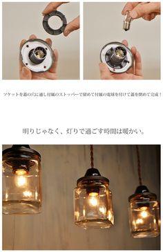 【楽天市場】【ペンダントライト】ガラス瓶 アンティーク / インテリア・寝具・収納 ライト・照明 シーリングライト(天井照明)洋風ペンダントライト ガラスボトル 北欧 02P07Feb16:るーららい