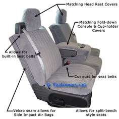 Custom fit seat Covers for any auto Custom Fit Seat Covers, Built In Seating, Hanging Out, Fashion Bags, Baby Car Seats, Children, Low Low, Note, Style
