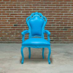 Armchair Blue now featured on Fab.