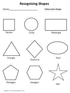 printable kindergarten worksheets   Worksheets for Preschool - Templates completely FREE for educational ...