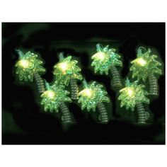 Palm Trees 10-Light String of Party Lights - #N6590 | LampsPlus.com