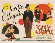 Lobby Card from the film City Lights