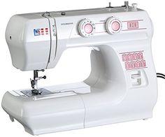 Nähmaschine N 1615 Freiarm Super Nutzstich-Nähmaschine - 10 Jahre Garantie - Stoffe kaufen DIY nähen Baby Nähmaschine kaufen -      15 Nähprogramme z.B. Gerad- und Zickzackstich, elastischer Blindstich, Dessousstich, Stretch- Gerad     4-Schritt-Knopflochautomatik Einfaches Knopflochnähen in verschiedenen Größen     Variable Stichlängenverstellung     2-stufiger Lüfterhebel für besonders dicke Stoffe