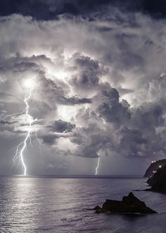 Lightning Storm by Diogo Gualter Ride The Lightning, Thunder And Lightning, Lightning Strikes, Lightning Storms, Tornados, Thunderstorms, Nature Pictures, Beautiful Pictures, Pictures Of Lightning