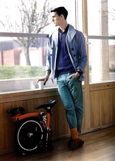 e34d25876b 36 Best Menswear Trend: Colored Trousers images | Men fashion, Men ...