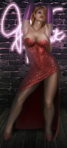 Jessica Rabbit by Kros2692 on deviantART