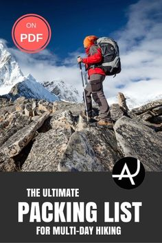Don't forget anything behind with this complete hiking packing list. Plan the gear you need for your outdoor adventure with this kit list for hiking.