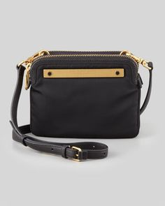 Work+It+Claudia+Crossbody+Bag,+Black++by+MARC+by+Marc+Jacobs+at+Neiman+Marcus.