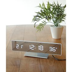 Home Clock, Led Wall Clock, Clocks For Sale, Home Scents, Thing 1, Gifts For Office, House Layouts, Flip Clock, Living Spaces