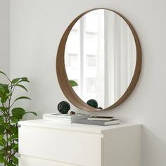 Online Ikea IKEA STOCKHOLM Mirror, walnut veneer in Auckland NZ. Lowest prices and largest range of IKEA Furniture in New Zealand. Shop for Living room furniture, outdoor furniture, bedroom furniture, office and alot more ! Ikea Stockholm, Stockholm Mirror Ikea, Stockholm Sweden, Oval Mirror, Round Mirrors, Circle Mirrors, Large Circle Mirror, Round Bathroom Mirror, Cheap Mirrors