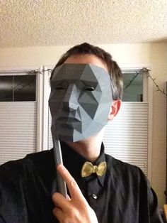 Low Polygon Mask by Austin http://thingiverse.com/thing:39851
