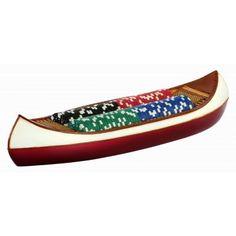 Canoe Poker Chip Set