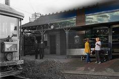 Transitions 1914-2014, Top Ryde tram terminus, Sydney