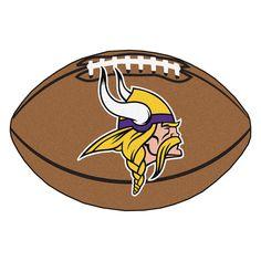Minnesota Vikings Touchdown Football Area Rug