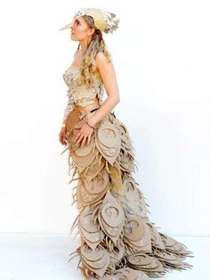 Carnival Cardboard Costumes - The Strode College Cardboard Couture 2012 Shows Creativity and Skill (GALLERY)