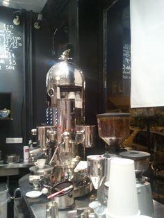 Espresso machine from Capogiro Gelato in Philadelphia PA